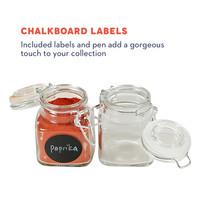 Tundra: California Home Goods - 3oz Mini Clear Glass Spice