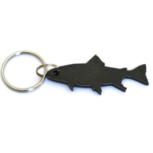 Munkees 3531 Stainless Bottle Opener Trout