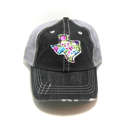 c2aa53fa18785 Buy Texas Distressed Trucker Hat - Fabric State from Gracie Designs  wholesale direct