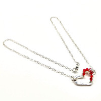 1cb80be9a60 Buy Sterling Silver Wrapped Red Crystal Heart Necklace from Lexi Butler  Designs wholesale direct