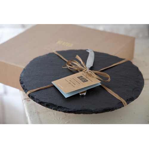 Cheese Board Gift Box Round