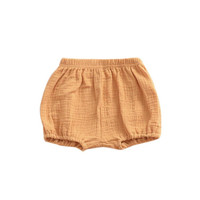 1dffd92c1 Buy Mustard Linen Baby Bloomers from Emerson and Friends wholesale direct