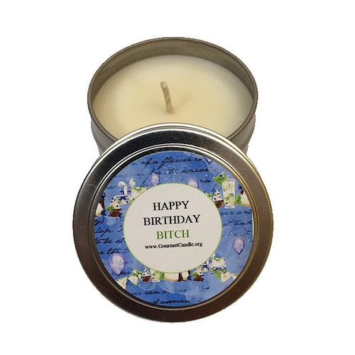 Buy Happy Birthday Bitch Candle From Gourmet Wholesale Direct