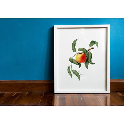 Georgia + Peach State Tree Print