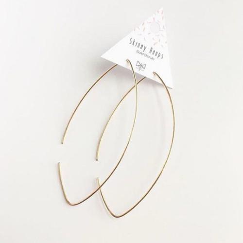 c66687483 Buy Skinny Hoop Earrings from MetaMorph wholesale direct